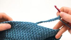 Crocheted Beanie Brim Part 1
