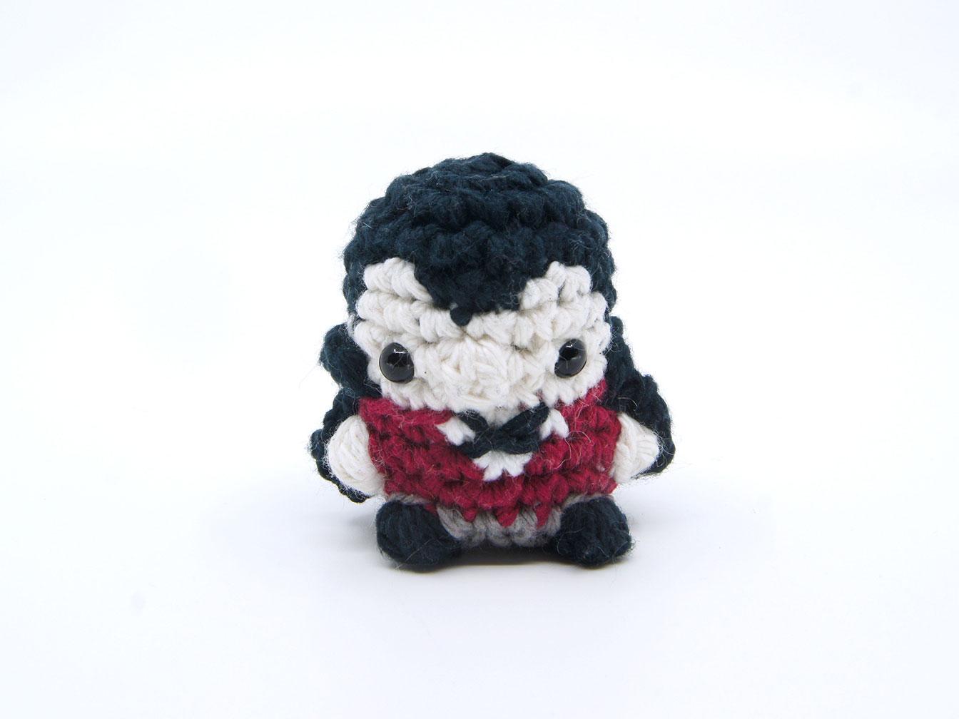 Vampire Amigurumi Pod Person