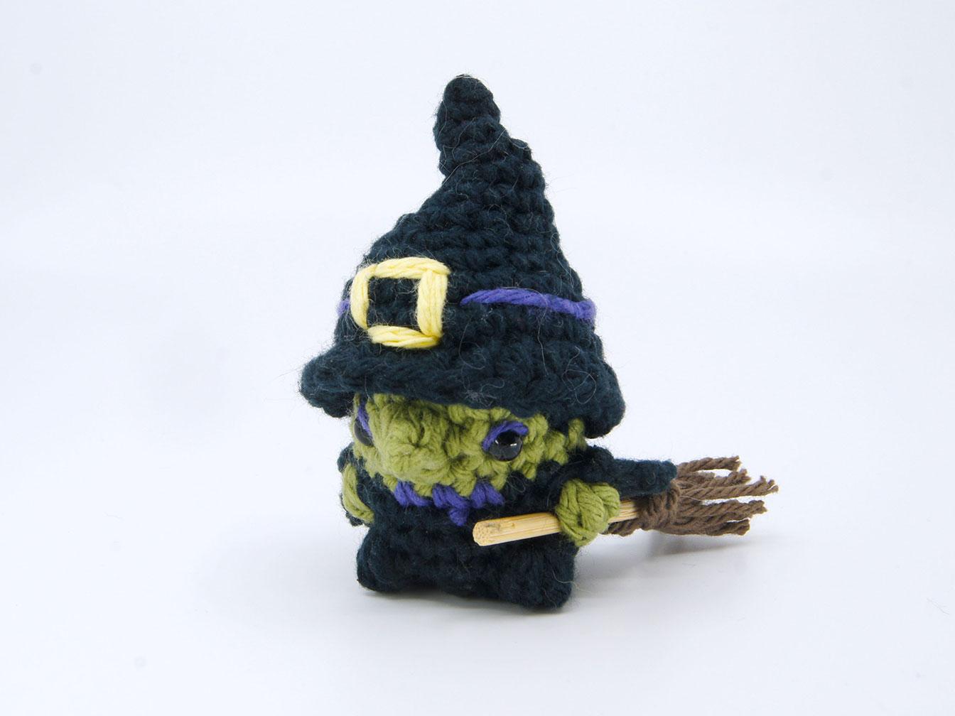 Witch Amigurumi Pod Person