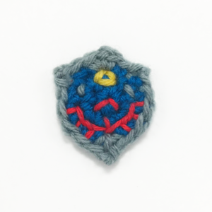 Crocheted Link's Shield