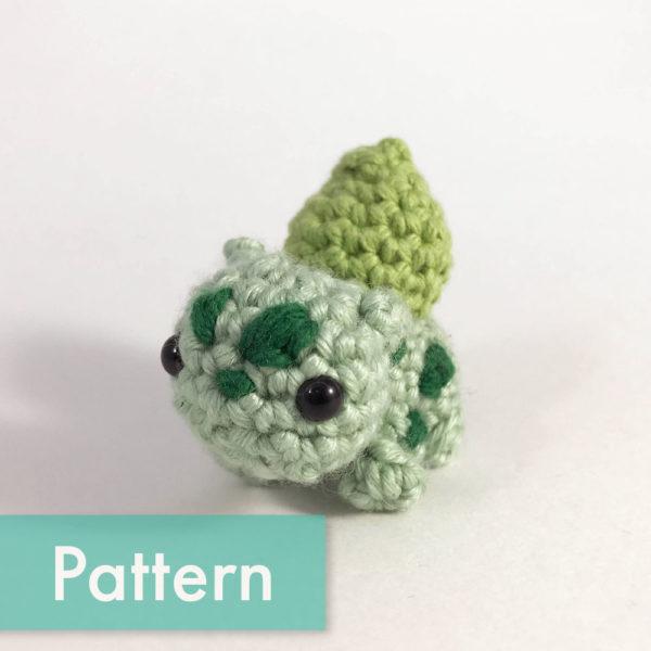 crocheted bulbasaur