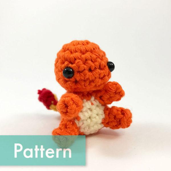 crocheted charmander