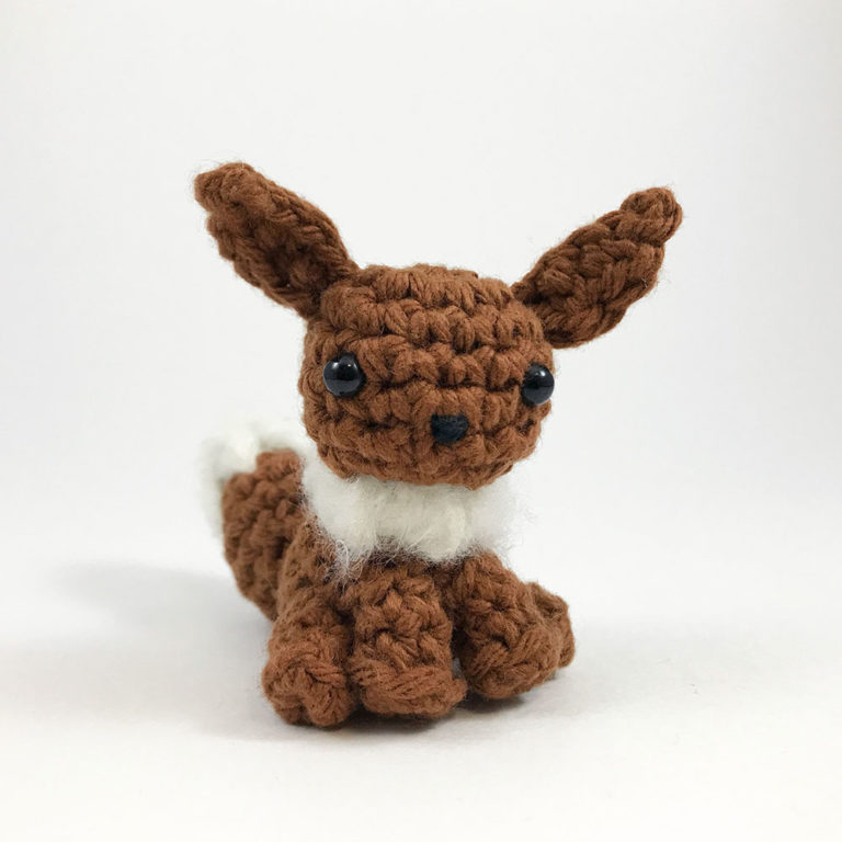 crocheted eevee