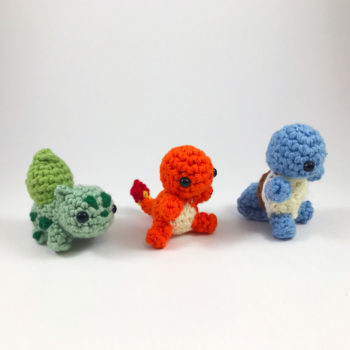 crocheted pokemon