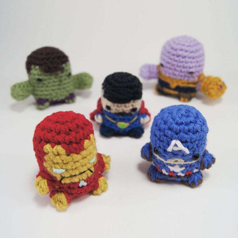 Mini Thanos #crochetthanos #moonblastercrochet #amigurumidoll ... | 768x768