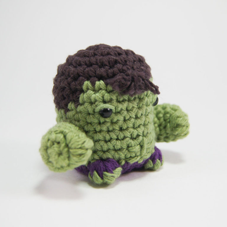 AMIGURUMI HULK VÍDEO 02 - YouTube | 768x768