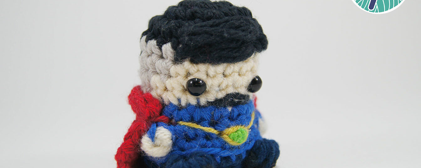 Dr Strange Amigurumi Pod Puppet