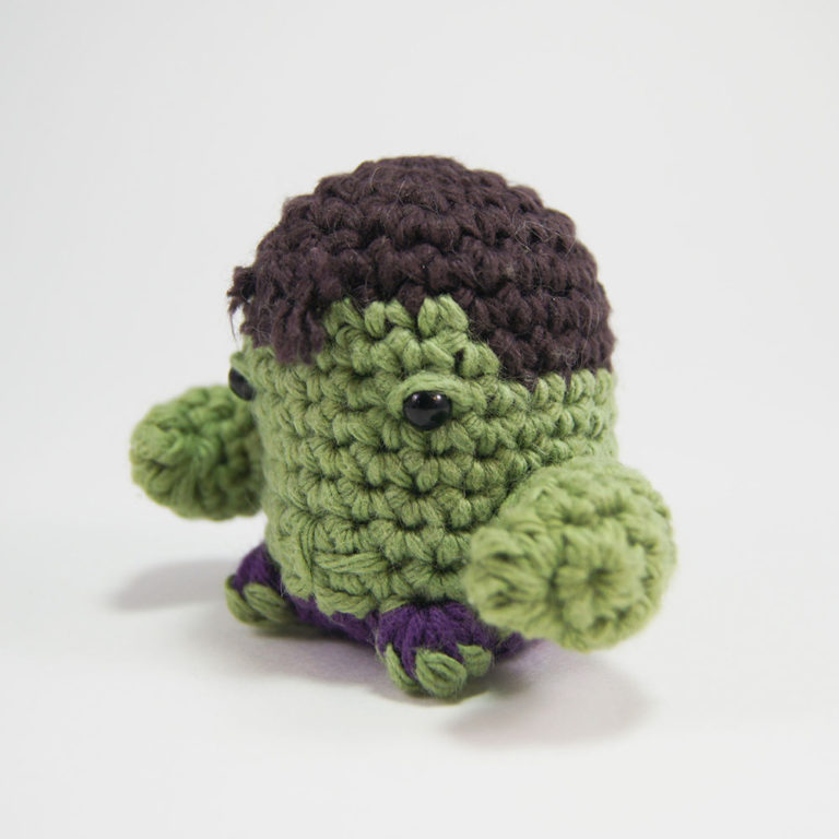 Hulk Sackboy Amigurumi crocheted stuffed doll by YarrrnIt @Kristin ... | 768x768