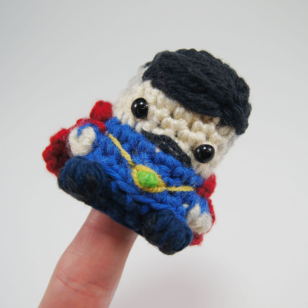 crocheted dr strange