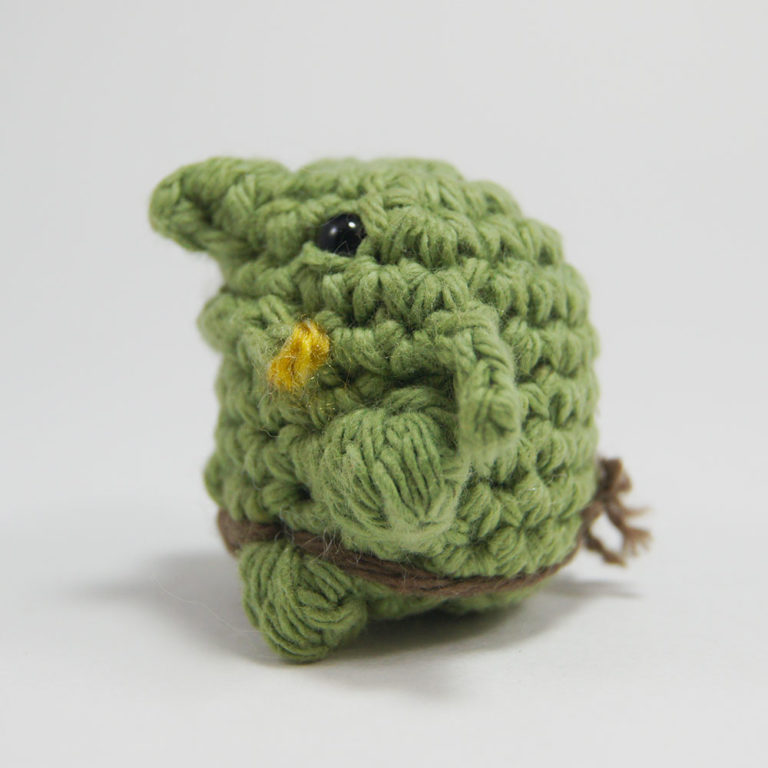 Crocheted Goblin