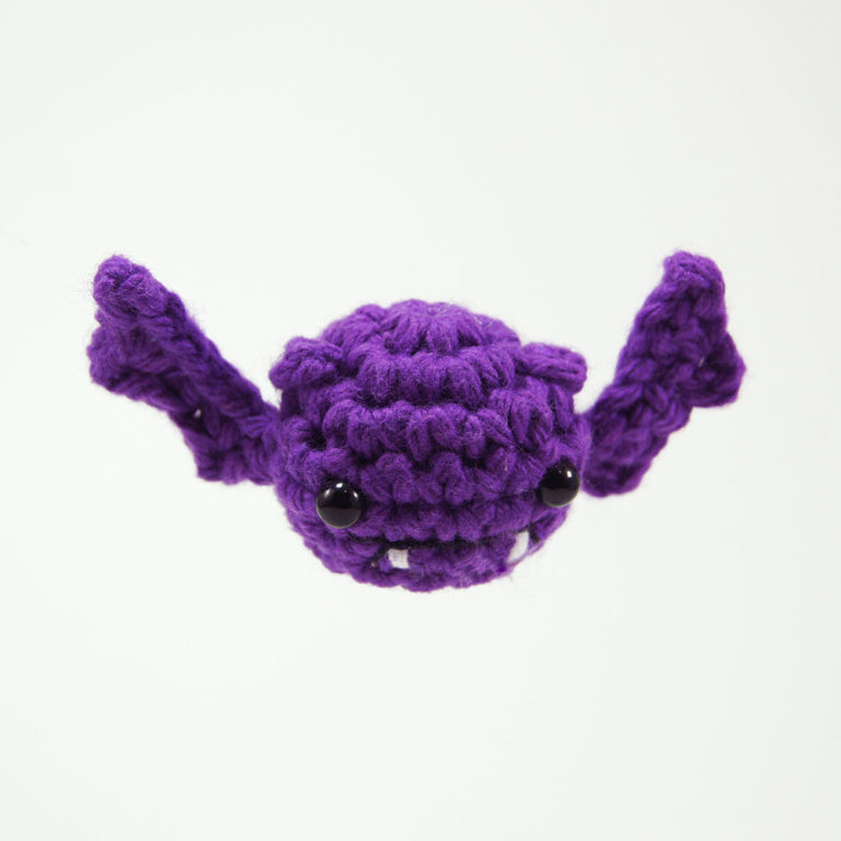 crocheted bat
