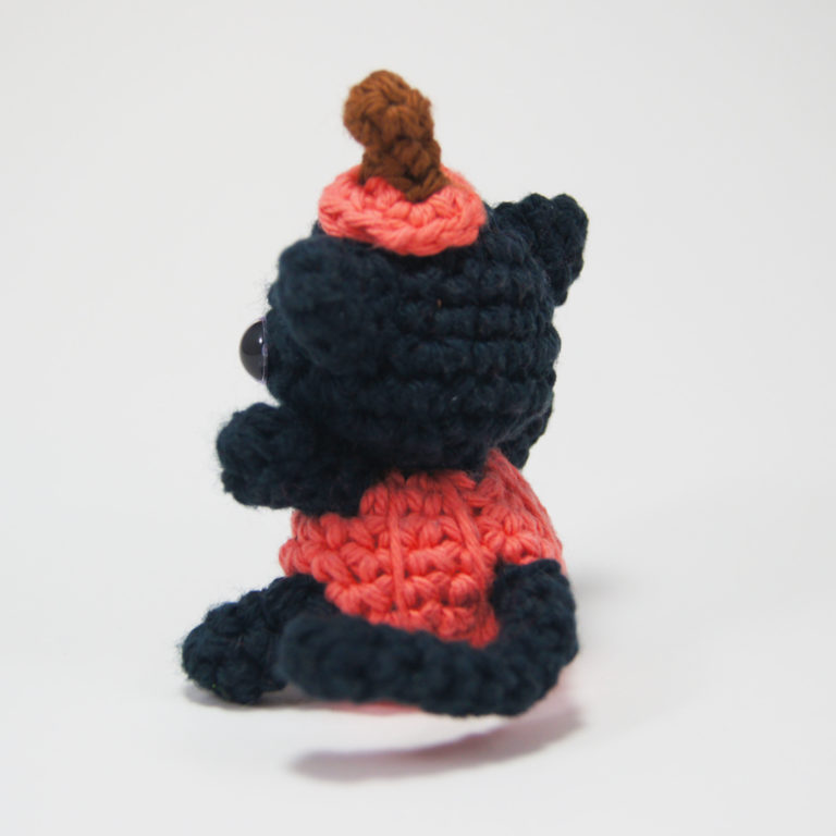 crocheted pumpkin cat_3