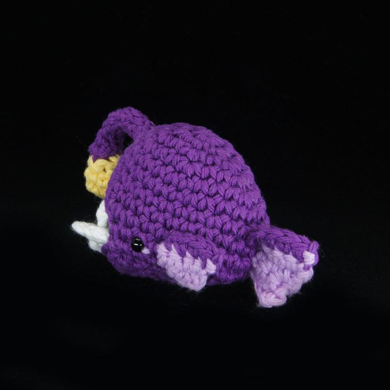 Crocheted Angler Fish
