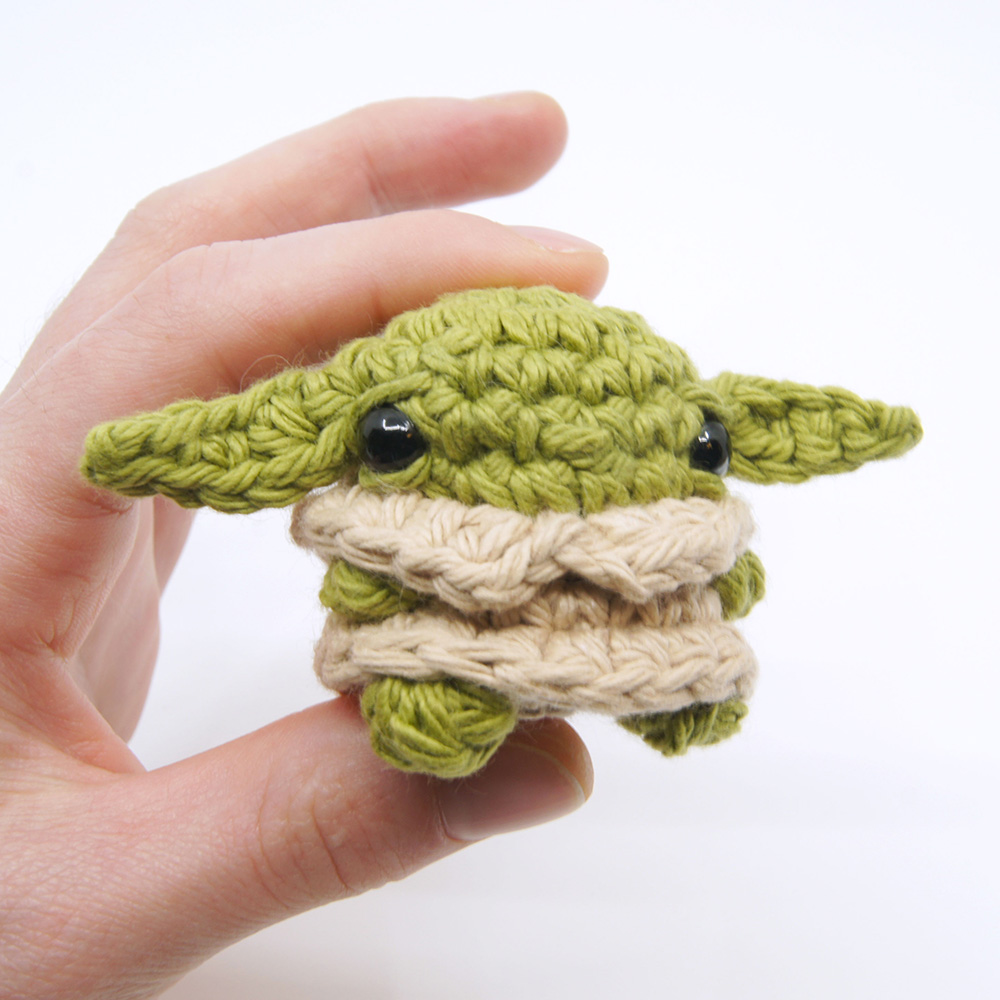 The Best Baby Yoda Patterns For Makers Who Crochet! Dolls, Booties ... | 1000x1000