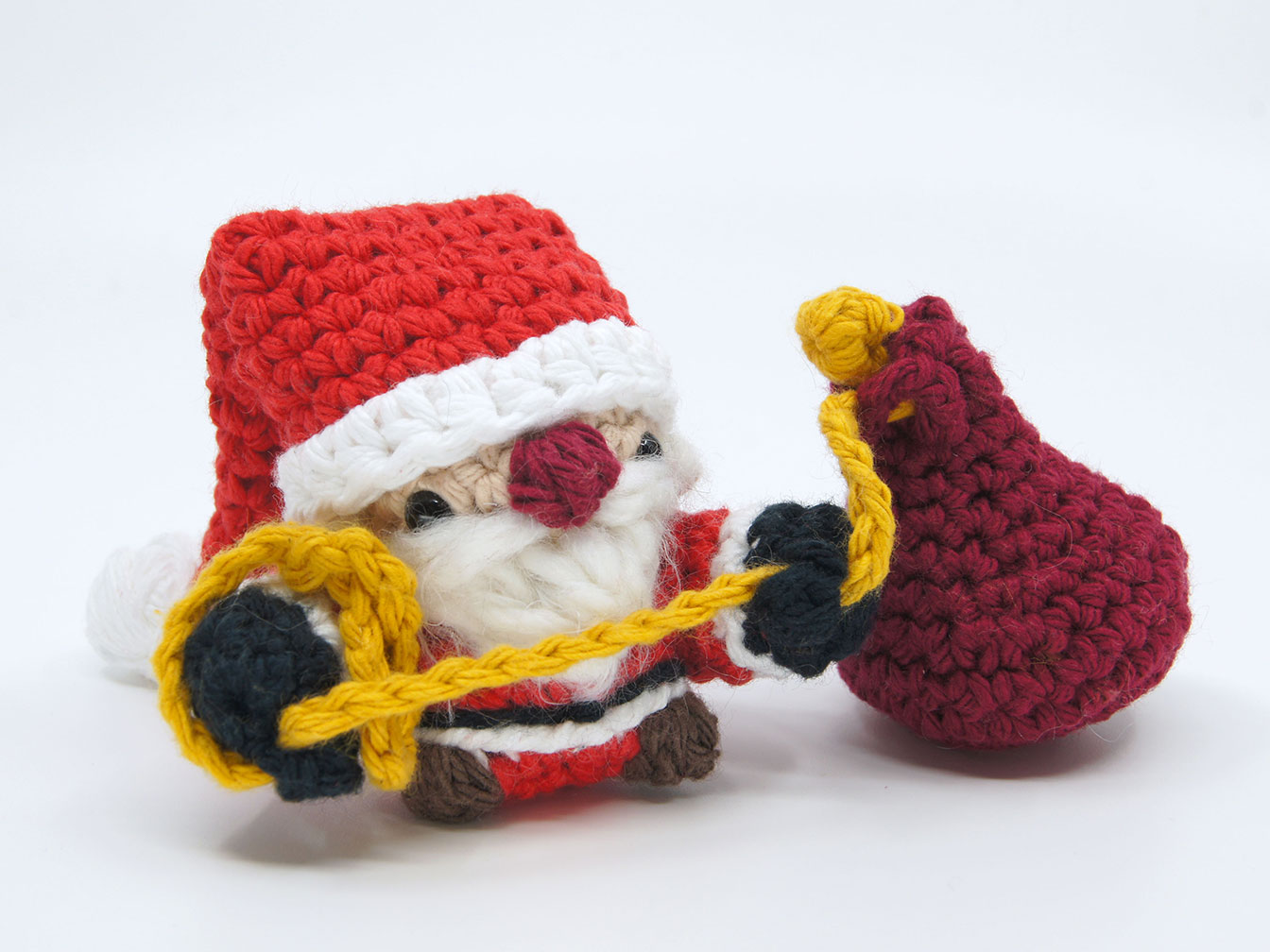 Crocheted Santa Claus
