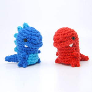 crocheted trex