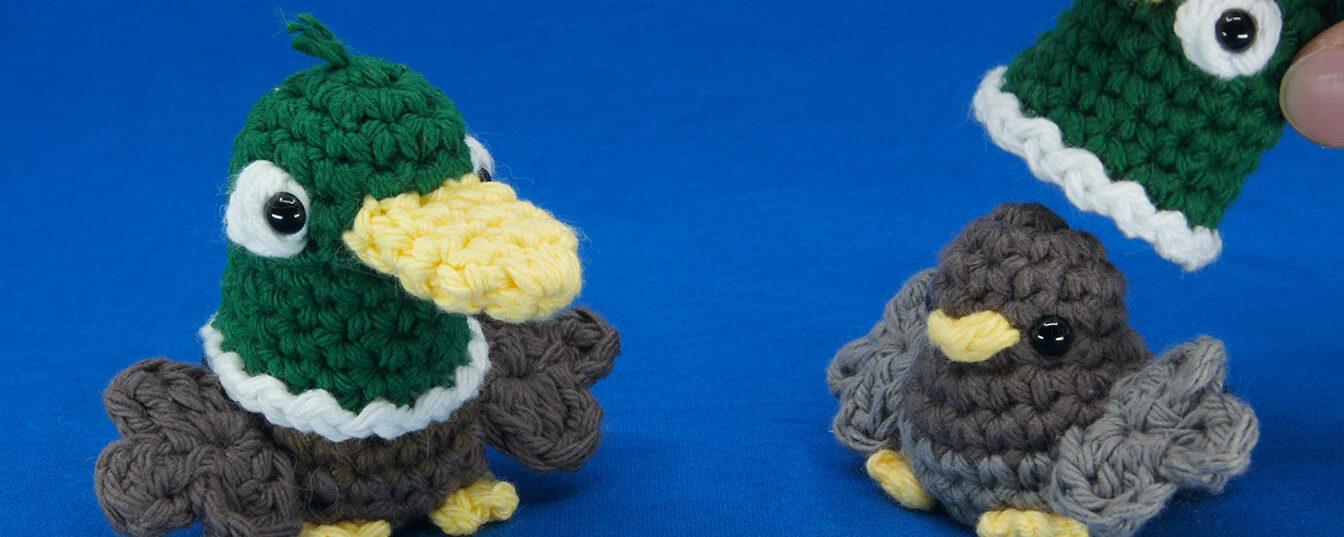 Duck Birb Amigurumi Course