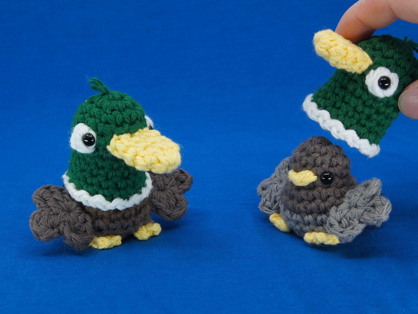 Duck Birb Amigurumi