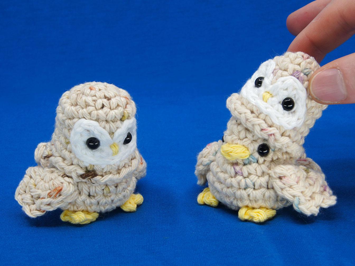 Barn Owl Birb Amigurumi