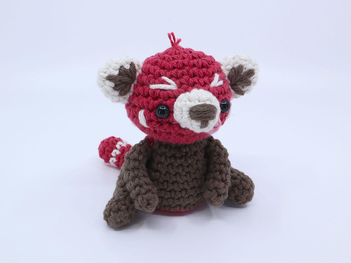 Ruby the Red Panda Amigurumi