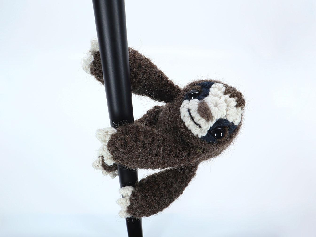 Simon the Sloth Amigurumi