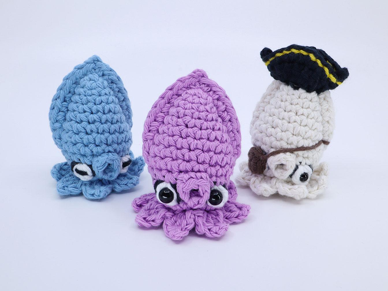 Squid Amigurumi