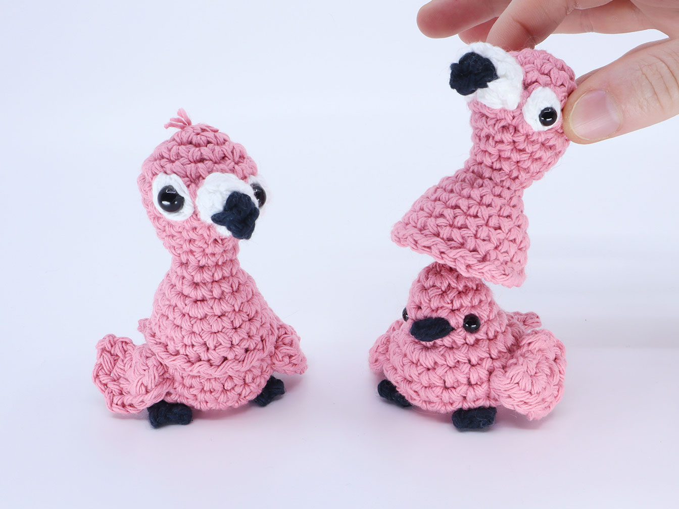 Flamingo Birb Amigurumi